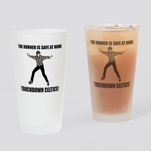 Touchdown Celtics Drinking Glass