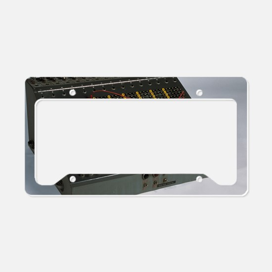 Heathkit H-1 analog computer License Plate Holder