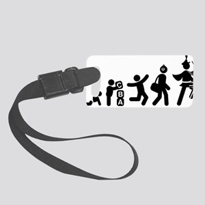 Marching-Band---Snare-Drum-AAG1 Small Luggage Tag
