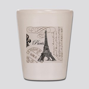 Vintage Paris Eiffel Tower Shot Glass