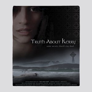Truth About Kerry Mini Poster Throw Blanket