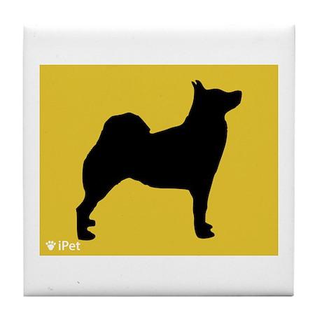 Buhund iPet Tile Coaster
