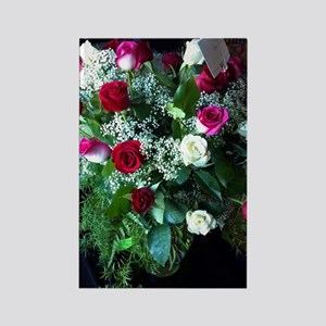 Roses for your Sweet Rectangle Magnet