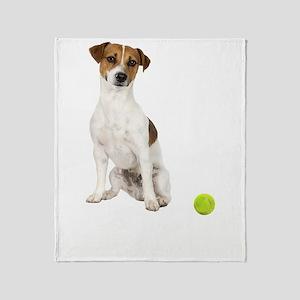 Jack Russell Terrier Life Throw Blanket