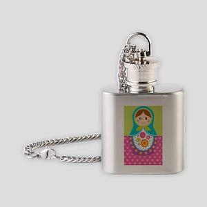 iTouch 2 Matryoshka case Flask Necklace