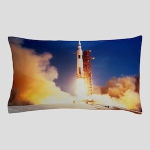 Launch of Apollo 11 spacecraft en rout Pillow Case