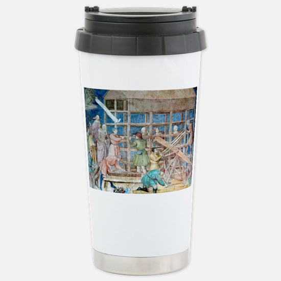 Building Noah's Ark, 14 Stainless Steel Travel Mug