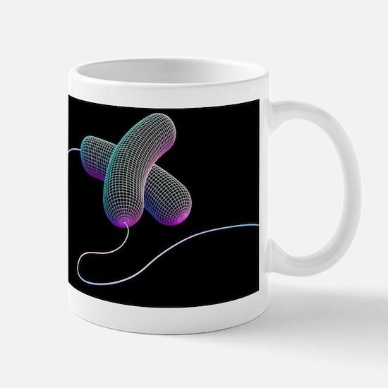 Bacteria, artwork Mug