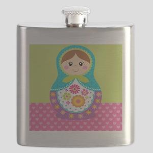 Square Matryoshka Flask