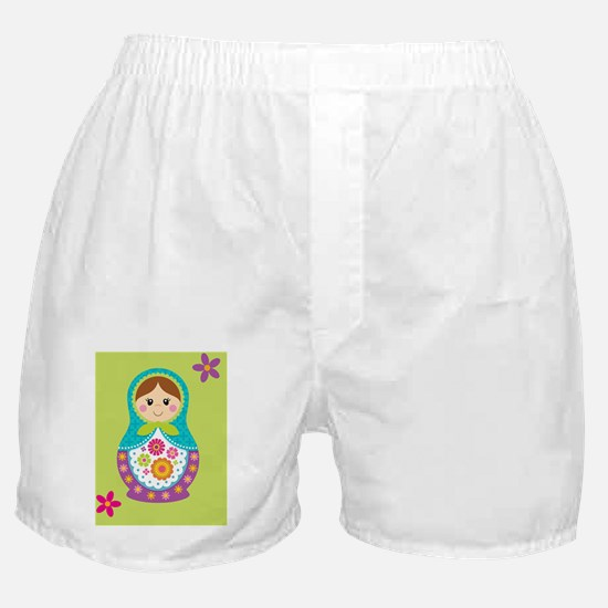 Matryoshka iPad case Boxer Shorts