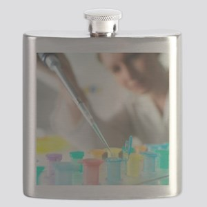 Biological research Flask
