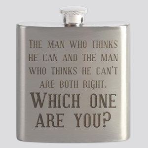 Which One Are You Flask