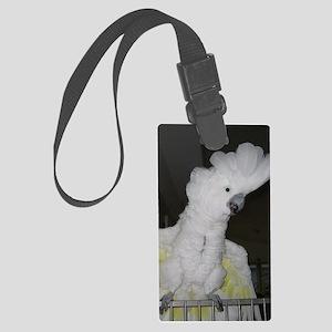 Umbrella Cockatoo - Ruth Large Luggage Tag