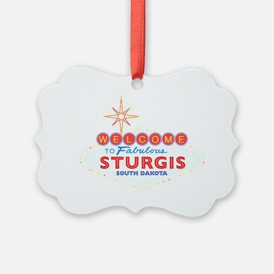 Fabulous Sturgis Ornament