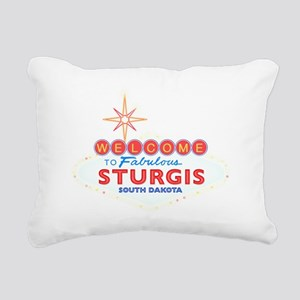 Fabulous Sturgis Rectangular Canvas Pillow