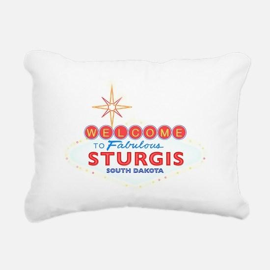 Fabulous Sturgis Rectangular Canvas Pillow