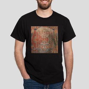Manjuvajra Mandala Thangka T-Shirt