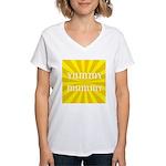 Yummy Mummy Women's V-Neck T-Shirt
