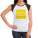 Yummy Mummy Women's Cap Sleeve T-Shirt