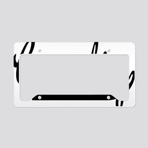 Geocaching License Plate Holder