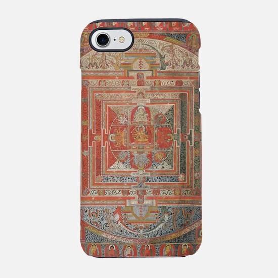 Manjuvajra Mandala Thangka iPhone 7 Tough Case