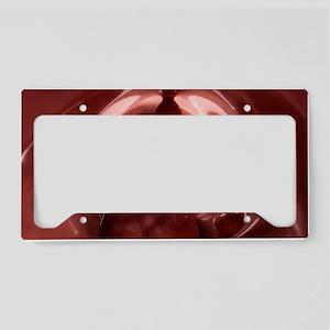 Colon cancer, artwork License Plate Holder