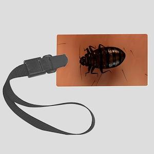 Bedbug, artwork Large Luggage Tag