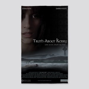 Truth About Kerry - Large Poster 3'x5' Area Rug