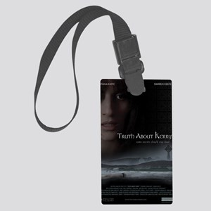 Truth About Kerry - Large Poster Large Luggage Tag