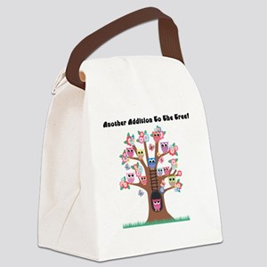 Another Addition To The Tree Canvas Lunch Bag