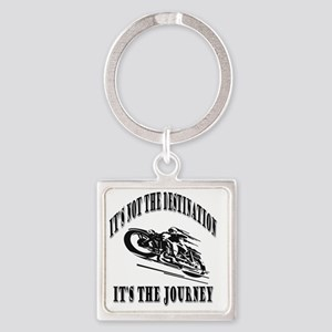 It's the Journey Square Keychain