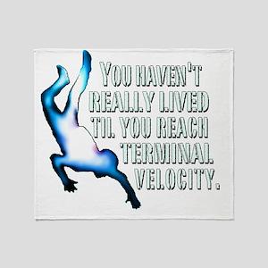 Terminal Velocity Throw Blanket