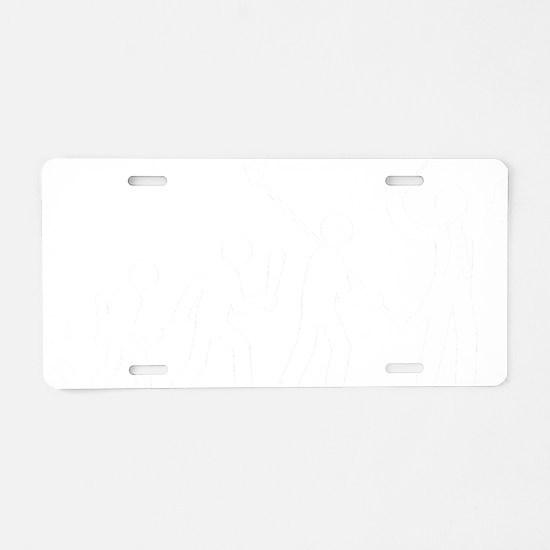 Music-Conductor-AAF2 Aluminum License Plate