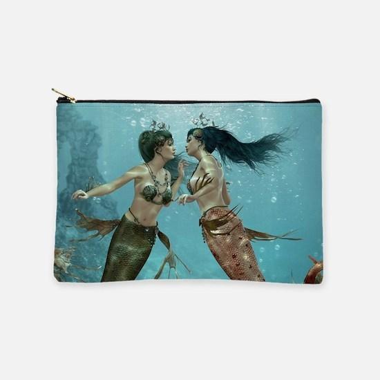 Friendly Mermaids Makeup Pouch
