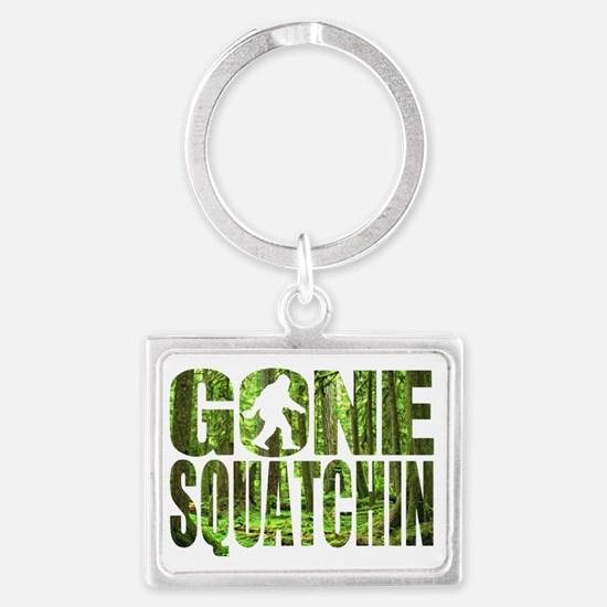 Gone Squatchin *Special Deep Fo Landscape Keychain
