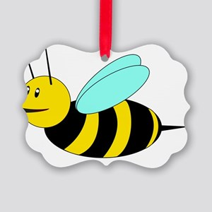 Buzzy Bee Picture Ornament