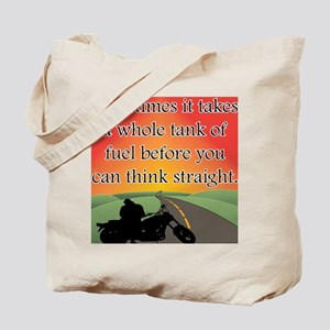 THINK STRAIGHT Tote Bag