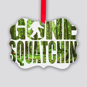 Gone Squatchin *Special Deep Fore Picture Ornament