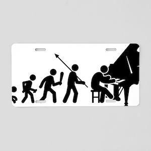Pianist-AAF1 Aluminum License Plate