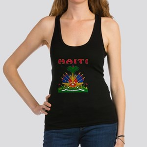 Haiti Coat Of Arms Racerback Tank Top