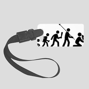 Iguana-Lover-AAF1 Small Luggage Tag