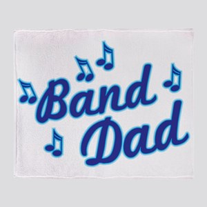 Band Dad Throw Blanket