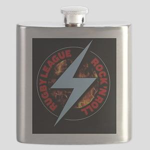 White Line Fever Flask