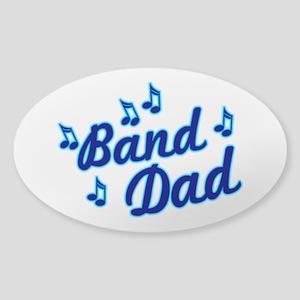 Band Dad Sticker (Oval)