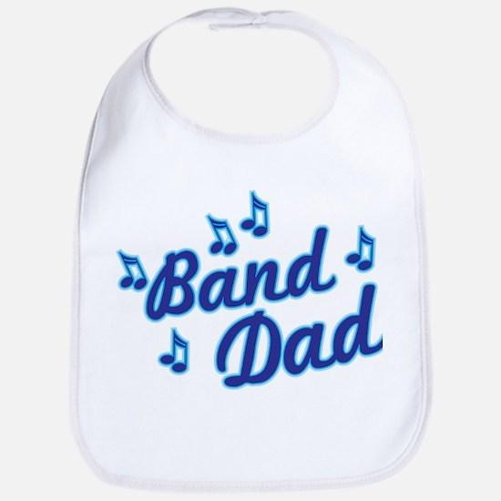 Band Dad Cotton Baby Bib