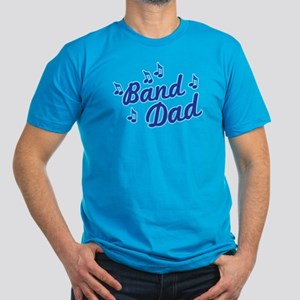 Band Dad Men's Fitted T-Shirt (dark)