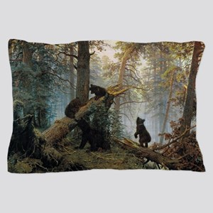 Ivan Shishkin Morning In A Pine Forest Pillow Case