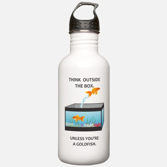 THINK OUTSIDE THE BOX Water Bottle