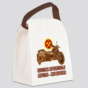 Russian Motorcycle: Anytime - any Canvas Lunch Bag