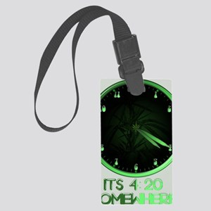 420 Somewhere Large Luggage Tag
